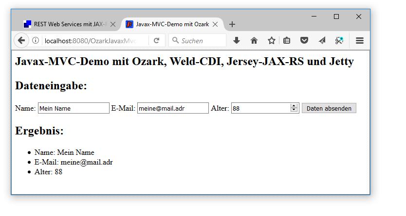 REST Web Services mit JAX-RS 2 1